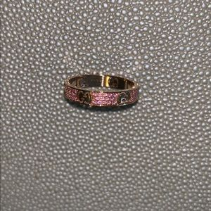 87909834c Gucci Jewelry | Pink Sapphire Icon Star Dust Ring | Poshmark